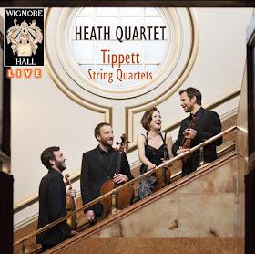 Heath Quartet - Tippett Quartet - Wigmore Hall Live