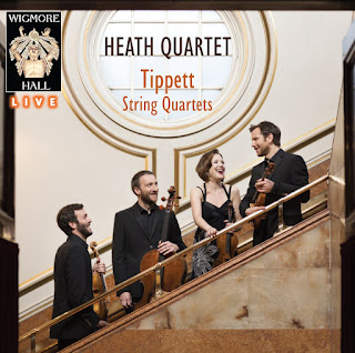 Heath Quartet - Tippett Quartet - Wigmore Hall Live