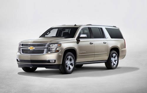 Redesigned 2015 Chevrolet Tahoe and Suburban Debut