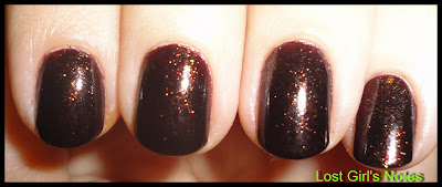 china glaze fall collection midtown magic nail polish