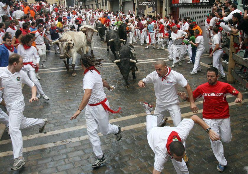 Pamplona running bulls jjbjorkman.blogspot.com