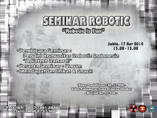 Seminar Robotic is fun