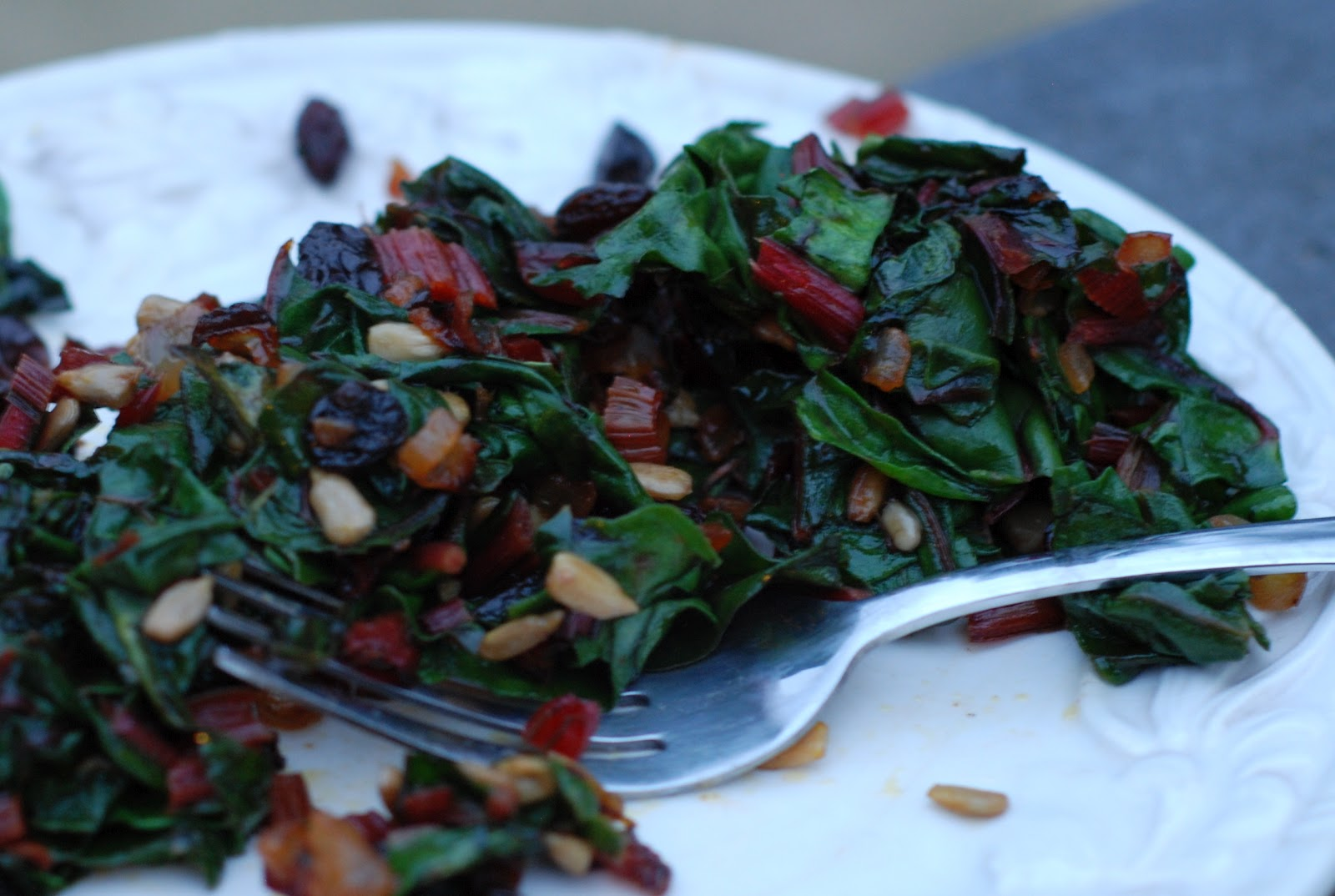Chickenville: Sauteed Swiss Chard - Enjoying Your Greens