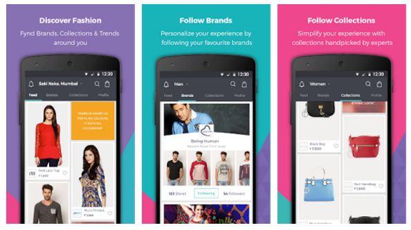 Fynd Google Play Store