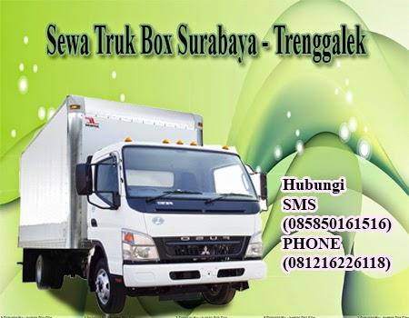 Sewa Truk Box Surabaya - Trenggalek