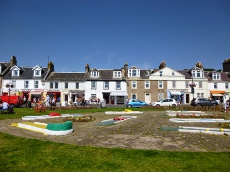 The Crazy Golf course in Millport on the Isle of Cumbrae