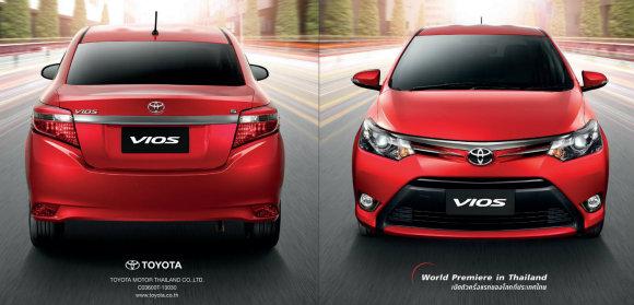 Review Toyota Vios 2013 - Exterior dan Interior | Toyota telah melancarkan model baru bagi Toyota Vios di  Bangkok International Motroshow,Thailand sekitar Mac lalu.