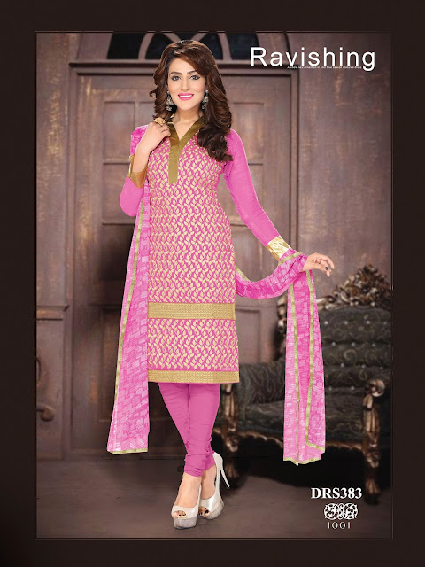 Purchase Pure Chanderi Cotton Dress Material