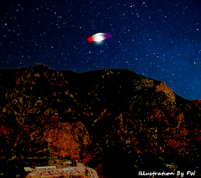 UFO Heading Toward NORAD