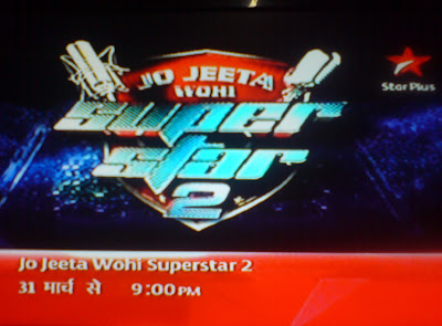 Jo Jeeta Wohi Super Star Season 2 on Star Plus