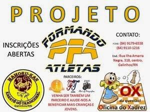 PROJETO FORMANDO ATLETAS - PFA
