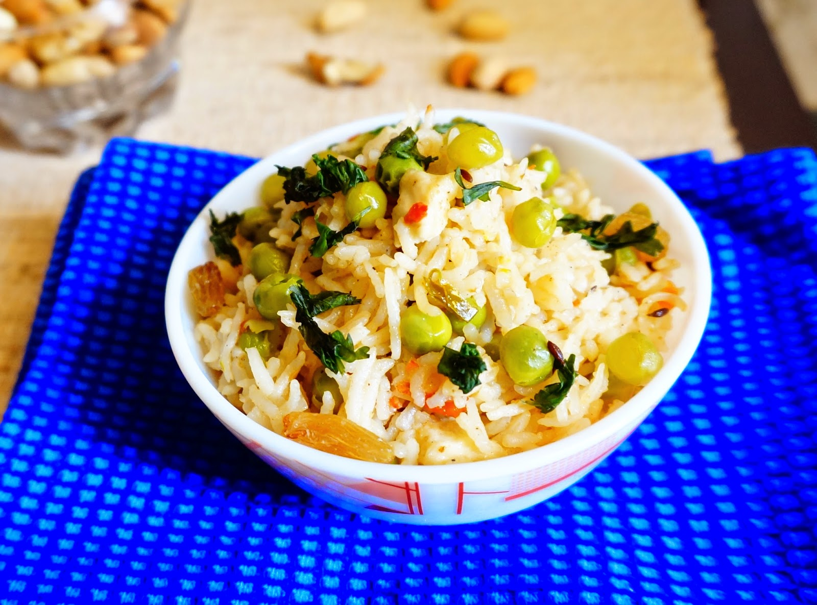 Peas Pulav,Peas Rice,Peas biryani,Matar pulav,matar chawal