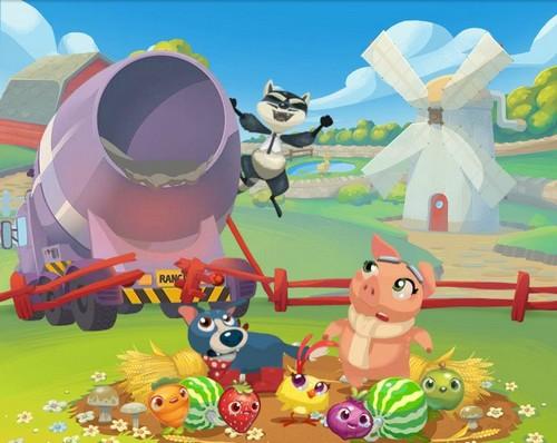 Cómo vencer al Mapache Maquiavélico Rancid the Racoon en Farm Heroes Saga