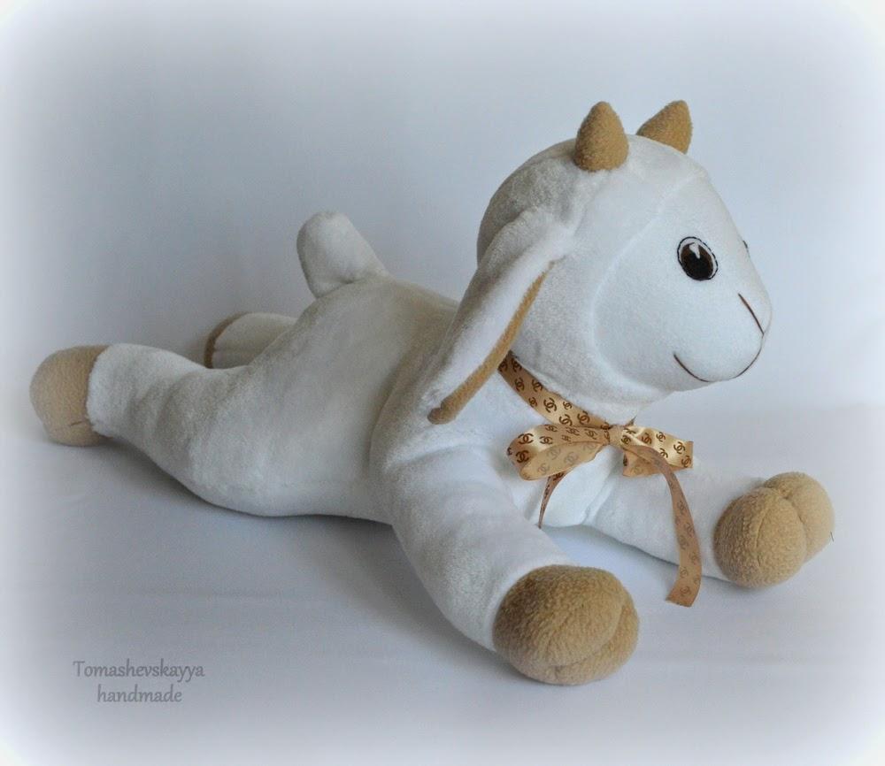 Мягкая игрушка козленок белый. Картинка козленок.
