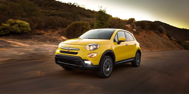 2016 NEw Fiat 500X comvetible cars front adventure