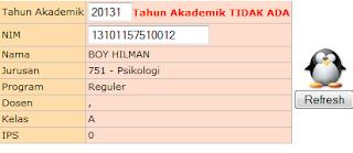 """Cara Mencetak Kartu Ujian Mid Semester UPI """"YPTK"""" Padang"""