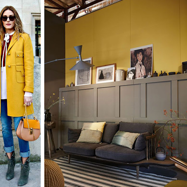 MUSTARD YELLOW • WEEKLY COLOR INSPIRATION • THE ROUND BUTTON BLOG