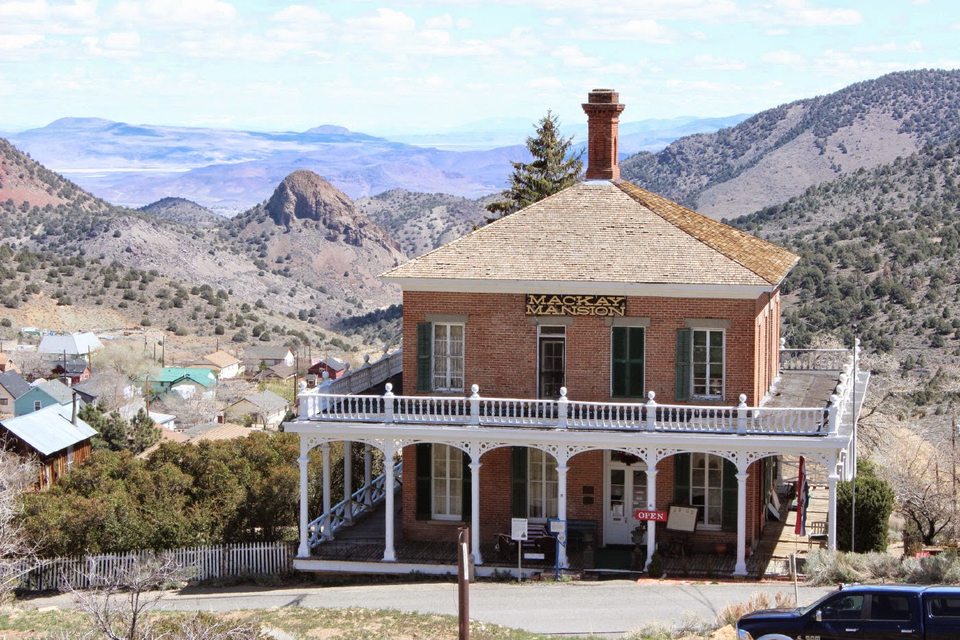 J and B and Lady Blue: Virginia City, Nevada