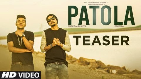 Patola - Bohemia the Punjabi Rapper x Guru Randhawa (Official Teaser) - the punjabi rapper