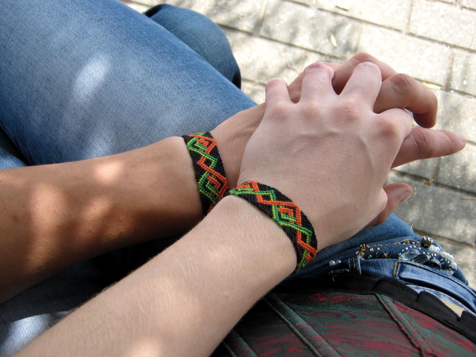 Браслеты фенечки на руку своими руками