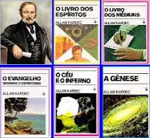 Os livros da codificação de Allan Kardec