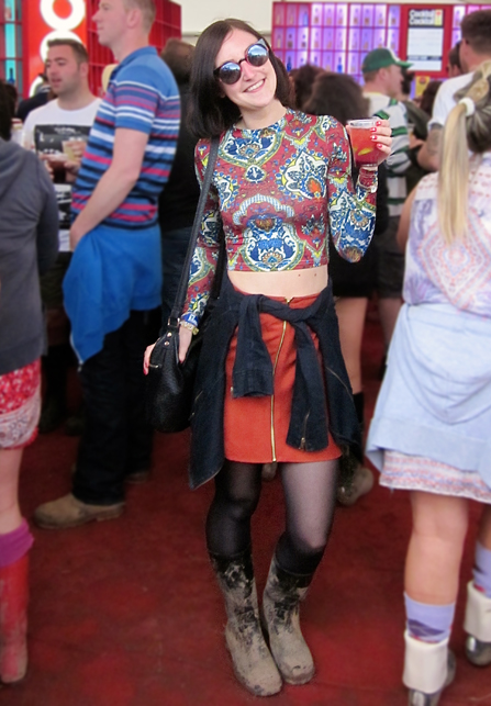 seventies festival outfit