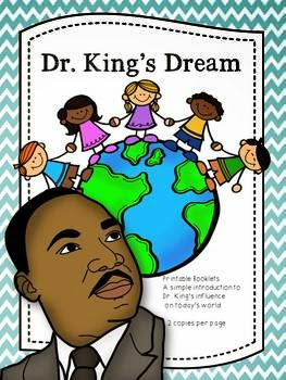 http://www.teacherspayteachers.com/Product/Dr-Kings-Dream-Printable-Booklet-1067135