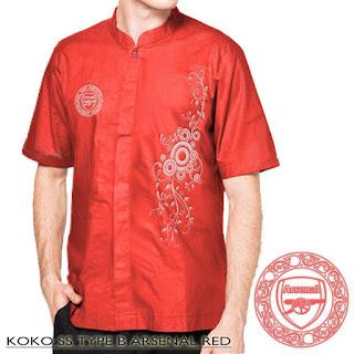 Baju Koko Arsenal