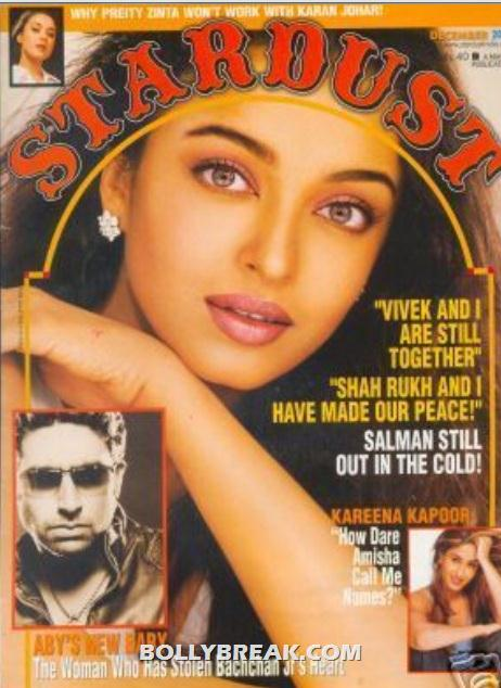 aishwarya rai  stardus cover page - Bollywood Old Magazine Stardust Cover Scans Free Downlaod