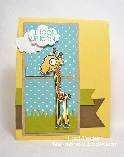 I Look up to You-designed by Lori Tecler/Inking Aloud-stamps from Paper Smooches