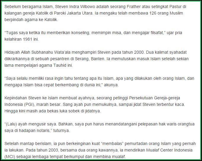 Membongkar Kebohongan Steven Indra, Mualaf Mantan Frater? Pks-piyungan-2