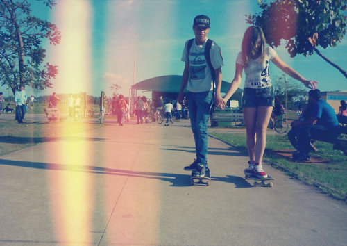 De skate enamorados - Imagui