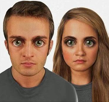 Wajah manusia masa depan