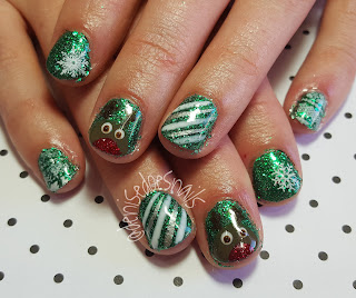 Rudolph gel nails