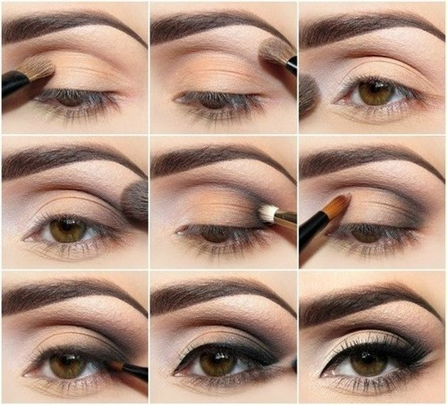 Eye-Makeup-Tutorial-for-Brown-Eyes