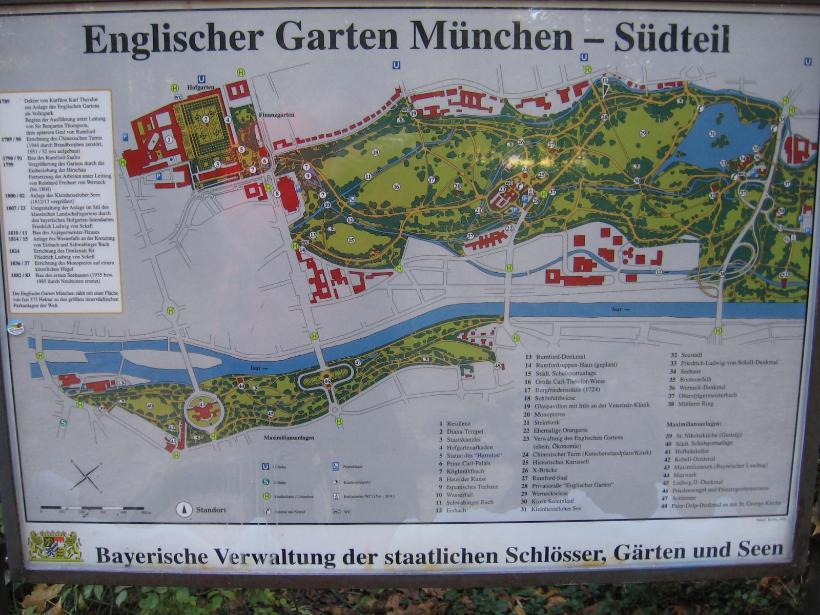 Englischer Garten Munchen U Bahn ~ CARPROLA for
