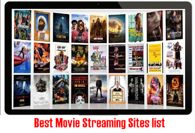 Best Movie Streaming Sites list to Watch Movies Online Free without Downloading