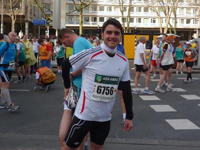 Salida de la Maratón de Rotterdam