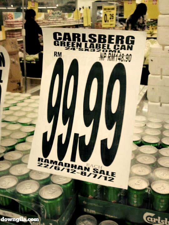 puasa ramadhan jual arak murah carlsberg