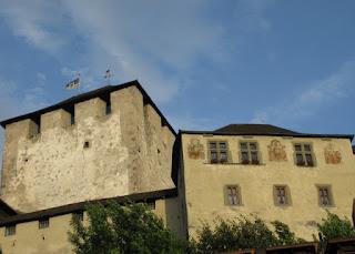 Schattenburg castle, Feldkirch, Austria