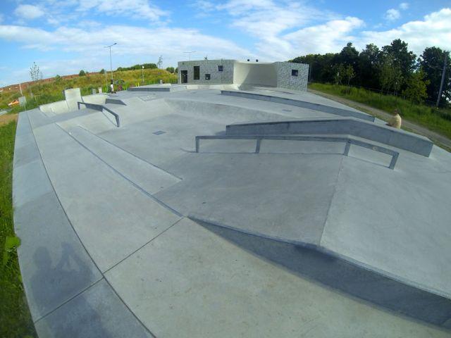 Skatepark aan de Zoetermeerse Rijweg.