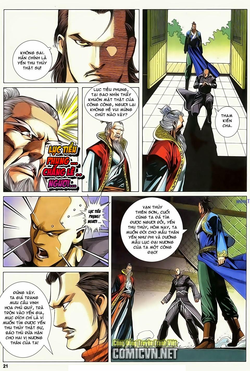 Cổ Long Quần Hiệp Truyện chap 84 Trang 21 - Mangak.info