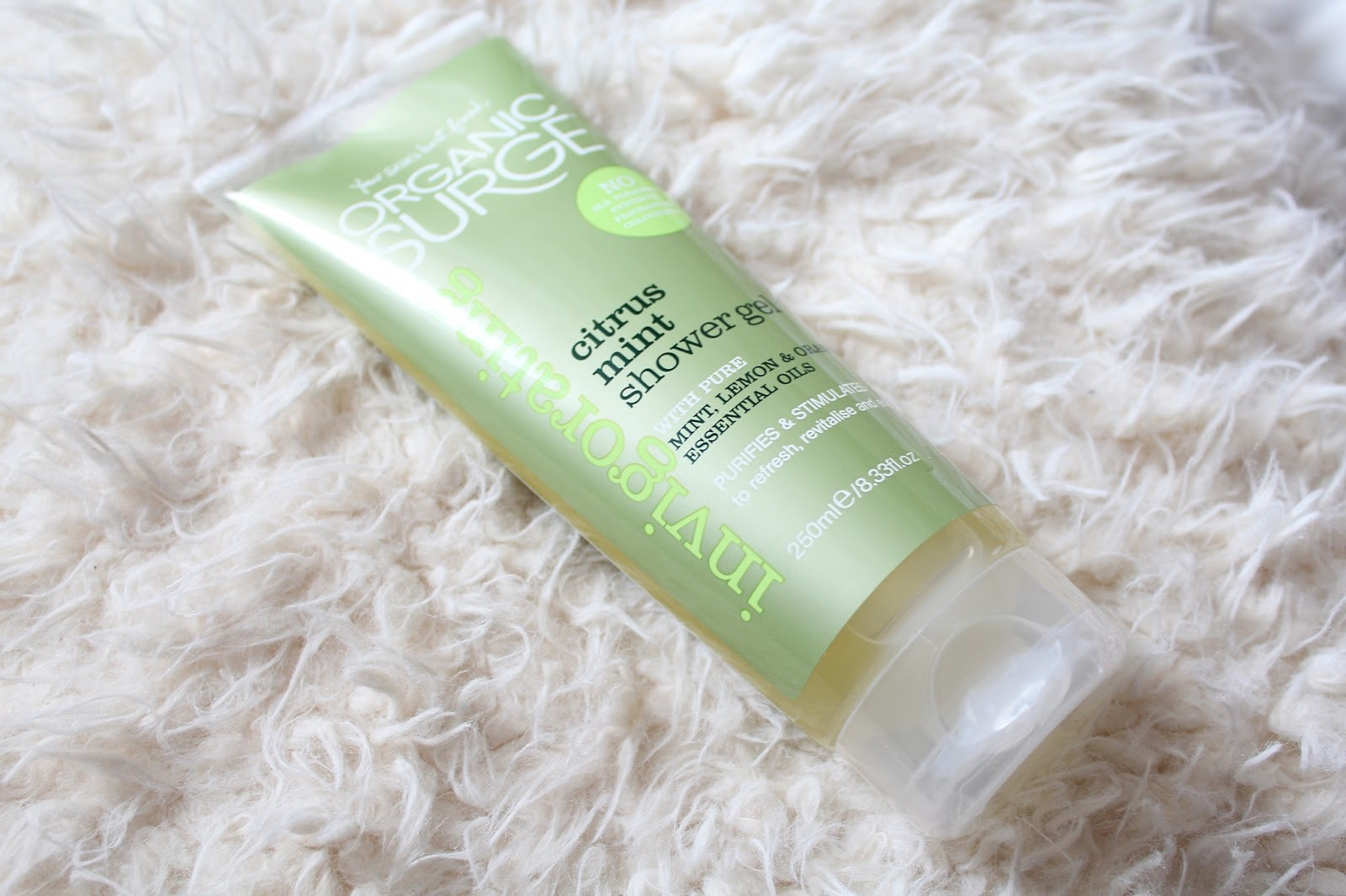 Organic Surge Citrus Mint Shower Gel