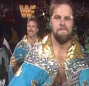 WWF / WWE Royal Rumble 1990 - Jacques Rougeau has a beard!