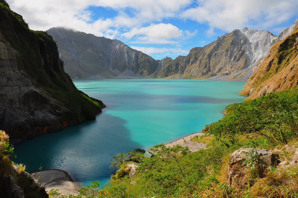 Crater Lake, Mount Pinabuto – Luzon, Philippines