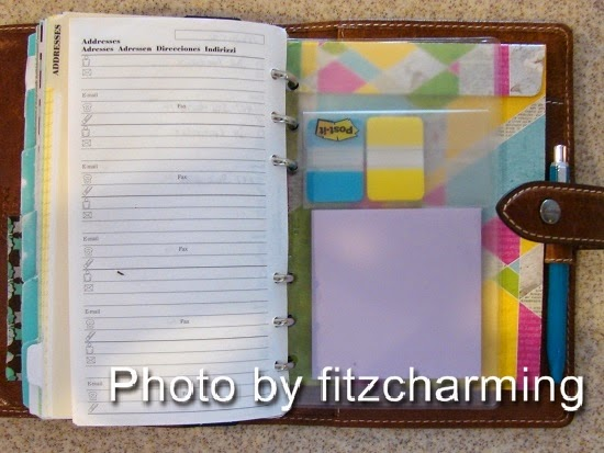 Filofax Clear Pockets