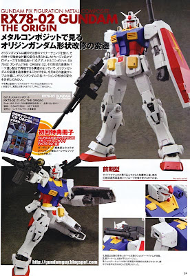G.F.F. Metal Composite RX78-02 Gundam The Origin