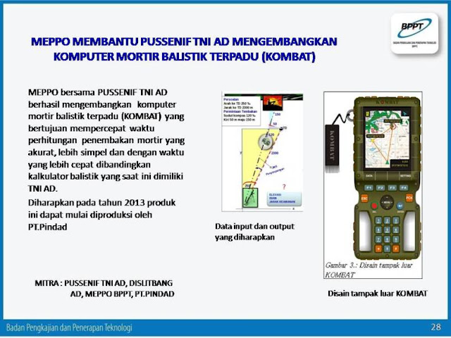komputer mortir balistik terpadu (KOMBAT)