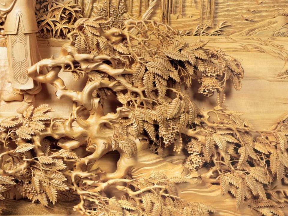 Разделочные доски из дерева резные