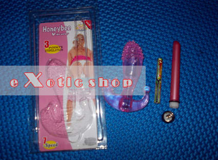 Alat Bantu Sex Honey Bee Vibrator, Gspot Stimulator